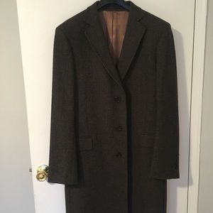 GANT Wool Plaid Topcoat Brand New